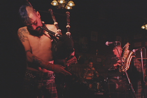 The Real McKenzies rock Bo Diddly's. Photo by Richard Amery