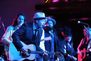 Barney Bentall and the Cariboo Express playing Lethbridge in November. Photo by Richard Amery
