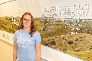 Kari Bird is excited about  Couleefest, Sept. 23 at Lethbridge College. Photo by Richard Amery