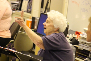 Fran Rude is directing Titanic: The Musical. Auditions are today and tomorrow. Photo by Richard Amery