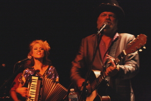 Fred Eaglesmith and Tif Ginn return to the Geomatic Attic, Oct. 20. Photo by Richard Amery
