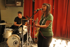 Miesha and the spanks played several great Lethbridge shows this year. Photo by Richard Amery