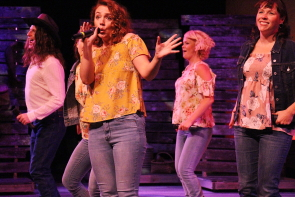 Shelby Wilson performing in New west Theatre's Barn Dance. Photo by Richard Amery