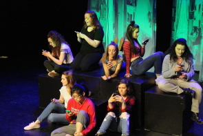 New West theatre presents Girls Like That, May 15-25. Photo by Richard Amery