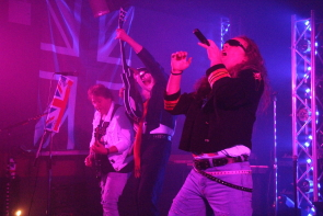 Def Leppard Tribute Stage Fright at Club Lime April 19. Photo by Richard Amery